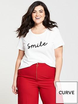 junarose-smile-logo-t-shirt-white
