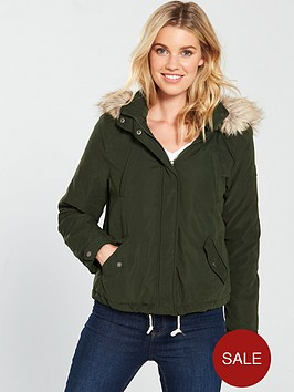 vero-moda-limit-short-parka-coat-khakinbsp