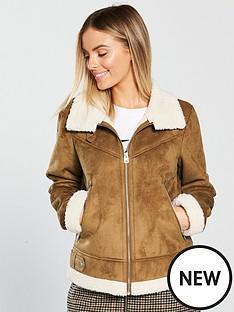 vero-moda-petite-faux-shearling-jacket-cream
