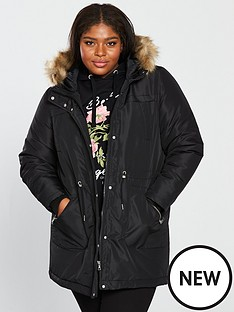junarose-newzinfa-faux-fur-hooded-parka-coat-black