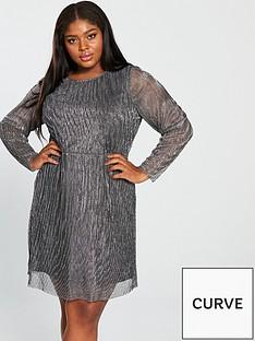 junarose-curve-miliana-long-sleeve-above-knee-dress-black