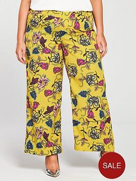 junarose-jossi-printed-wide-leg-trousers-lemon