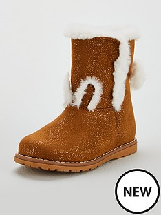 mini-v-by-very-girls-milli-rabbit-pom-pom-boots-tan