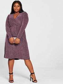junarose-liwia-long-sleeve-wrap-dress-amaranth-purplenbsp
