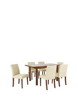 morris-120-150-cm-solid-wood-extending-table-6-chairs-creamwalnut