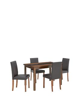 morris-120-cm-solid-wood-and-glass-dining-table-4-chairs-blackwalnut