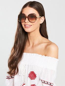 chloe-oversized-sunglasses-brownnbsp
