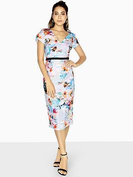 little-mistress-bodycon-midi-dress-printed