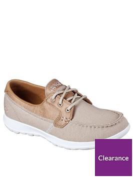 skechers-go-walk-lite-canvas-boat-shoe