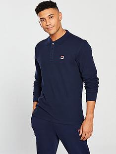 fila-white-line-bertoni-long-sleeve-polo