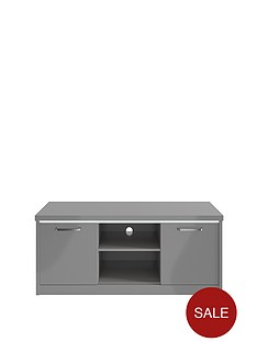 consort-indy-ready-assembled-gloss-tv-unit-with-led-lights--nbspgrey-fits-up-to-48-inch-tv