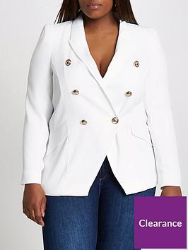 ri-plus-buttoned-double-breasted-blazer-white