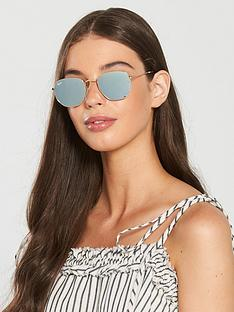 ray-ban-hexagonal-sunglasses--nbspgold
