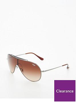 ray-ban-rayban-brown-shield-sunglasses