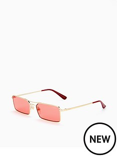 vogue-micro-metal-rectangle-brow-bar-sunglasses-pink