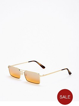 vogue-micro-brown-rectangle-sunglasses