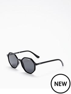 vogue-black-hexagon-sunglasses