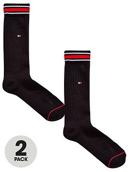 tommy-hilfiger-iconic-sports-socks-2-pack-black