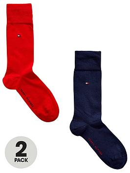 tommy-hilfiger-classic-socks-2-pack-navyred