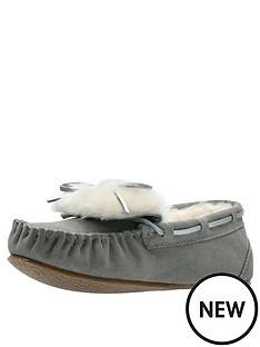 clarks-warm-glamour-slipper-grey