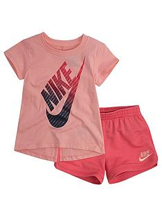 Nike Baby Girl Short Set - Pink eb34f783c
