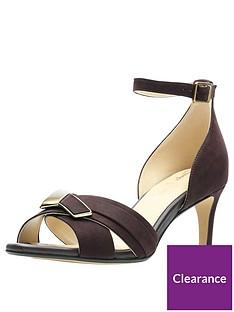 3e348fa45980 Clarks Amali Ice Heeled Sandal - Aubergine