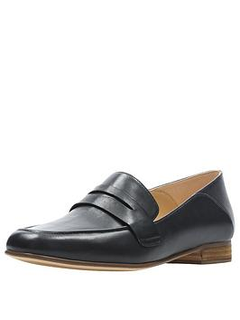 clarks-pure-iris-loafers-black
