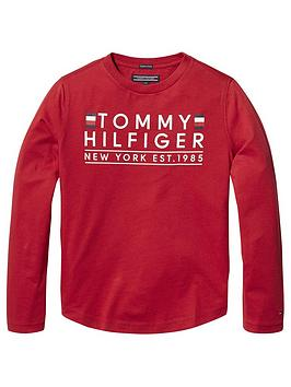 tommy-hilfiger-boys-long-sleeve-t-shirt-red