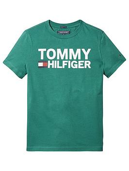 tommy-hilfiger-boys-short-sleeve-graphic-t-shirt-green
