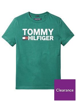 tommy-hilfiger-boys-short-sleeve-graphic-t-shirt-green