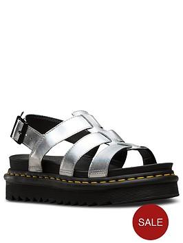 dr-martens-yelena-metallic-leather-flat-sandal-silver