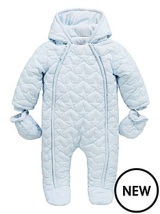 mamas-papas-baby-boys-navy-quilted-pramsuit