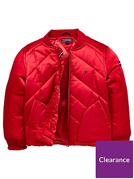 tommy-hilfiger-girls-quilted-padded-jacket-raspberry