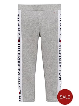 tommy-hilfiger-girls-logo-leggings-grey