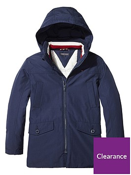 tommy-hilfiger-boys-padded-hooded-parka-navy