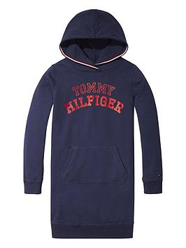 tommy-hilfiger-girls-logo-hoodienbspdress-navy