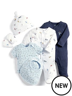 mamas-papas-baby-boys-6-piece-star-print-set