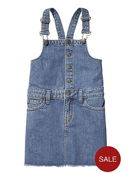 tommy-hilfiger-girls-denim-dungaree-dress
