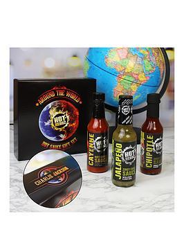 Hot-Headz Around The World Gift Set