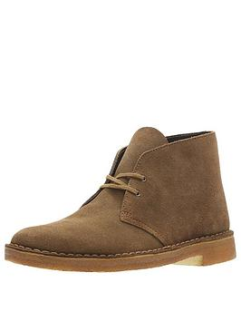 Clarks Originals Clarks Originals Originals Suede Desert Boot - Cola Brown Picture