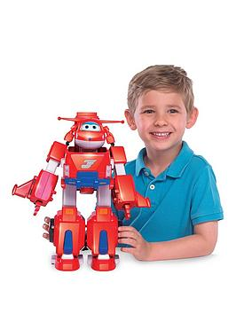 Super Wings Super Wings Jett'S Super Robot Suit Picture