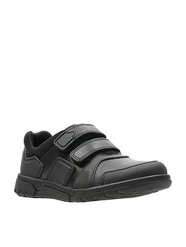 Clarks Clarks Blake Street Junior Shoes - Black Picture
