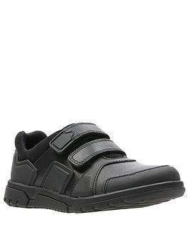 Clarks Clarks Blake Street Infant School Shoes - Black Picture