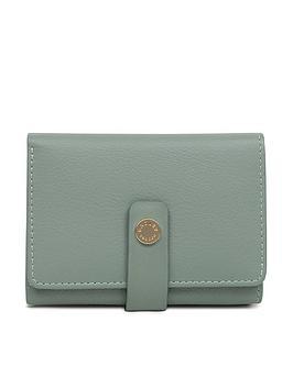 radley-larks-wood-small-folded-purse-green