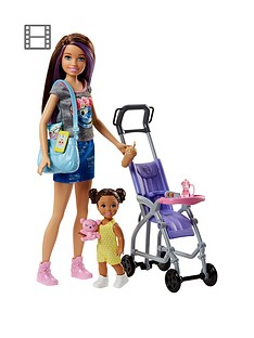 barbie-skipper-babysitter-stroller-playset