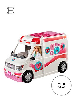 barbie-careers-care-clinic-vehicle-ambulance-with-lights-and-sounds