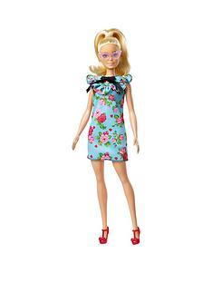 barbie-fashionistas-doll-ndash-teal-floral-dress
