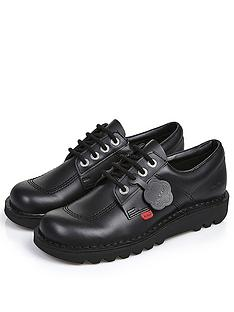 kickers-kick-lo-w-corenbspleathernbspnbspflat-shoes-black