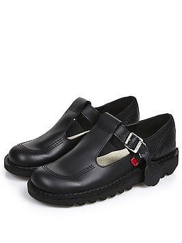 Kickers Kickers Kick Lo Aztec Flat Shoe - Black Picture