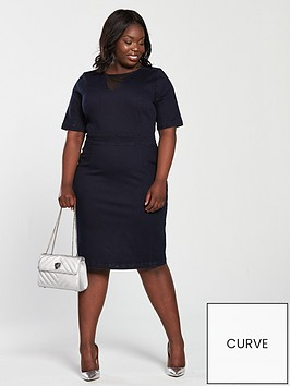 v-by-very-curve-denim-bodycon-dress-indigo